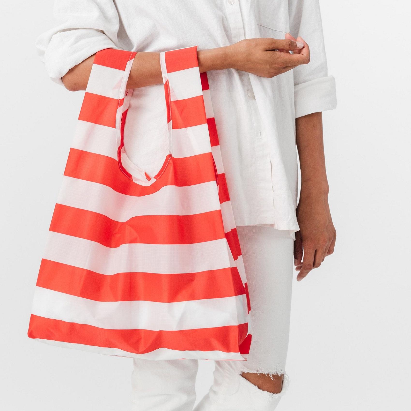 shopper-baggu-red-stripe