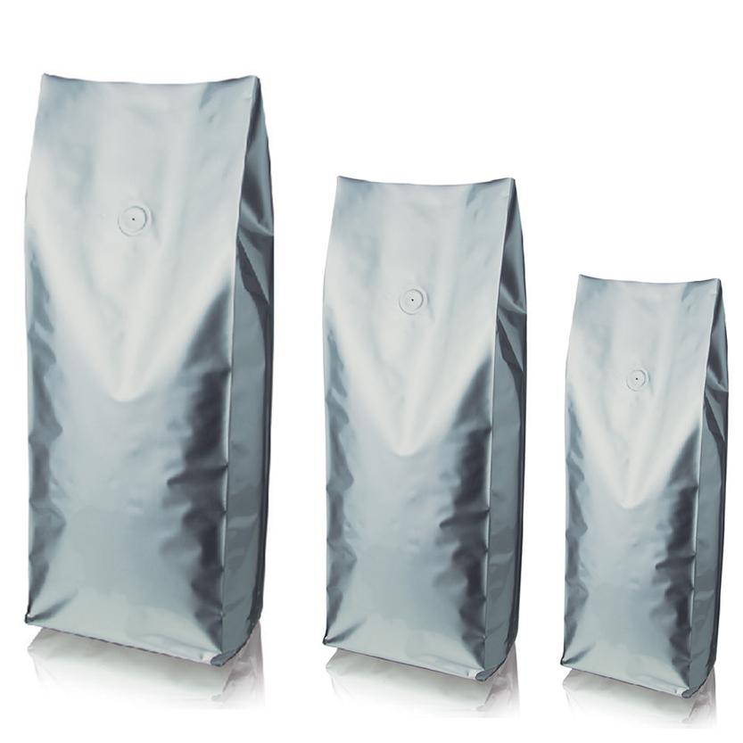 sacchetto argento con valvola gruppo