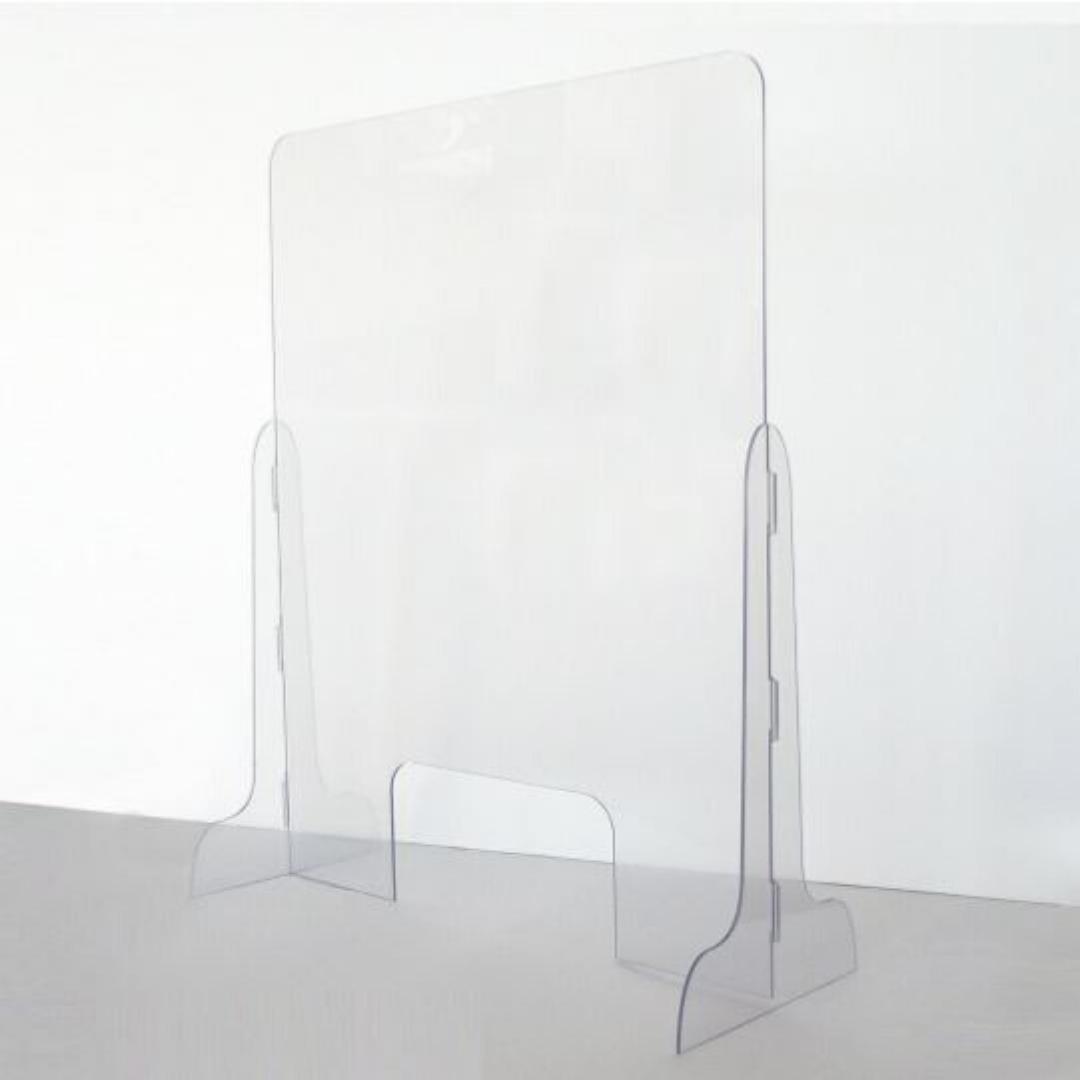 pannello parasputi in plexiglass