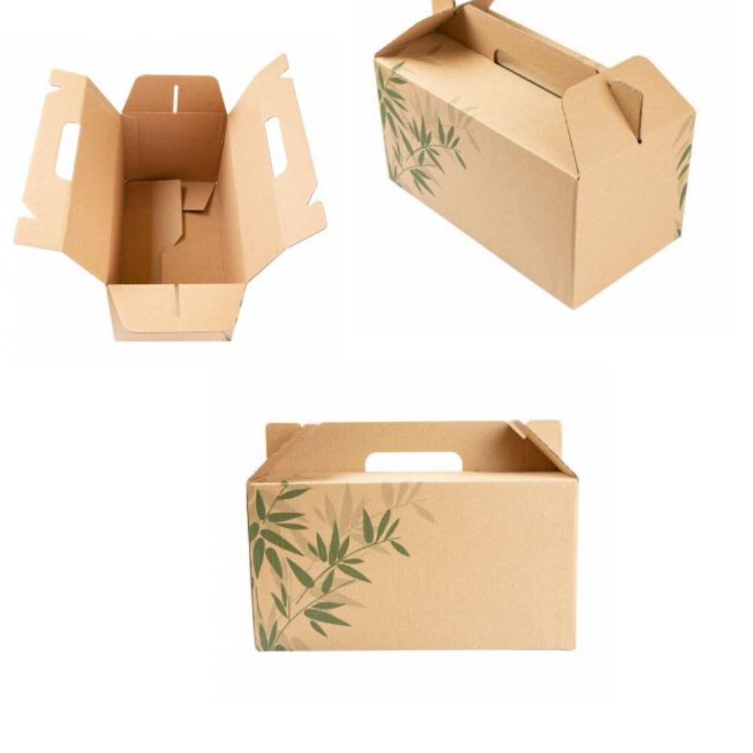 scatola meal box avana per asporto