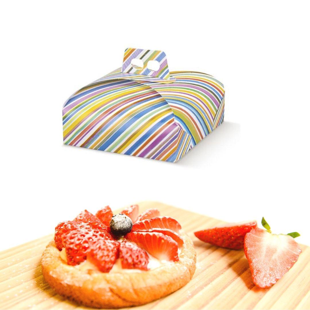 scatole porta torte colorata 33918c