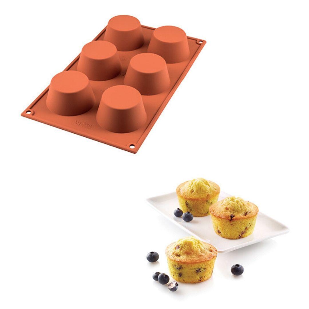 stampo per muffin in silicone 20.023.00.0065