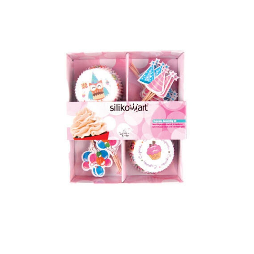 baking cups set 24+24 cake party 70.172.05.0065