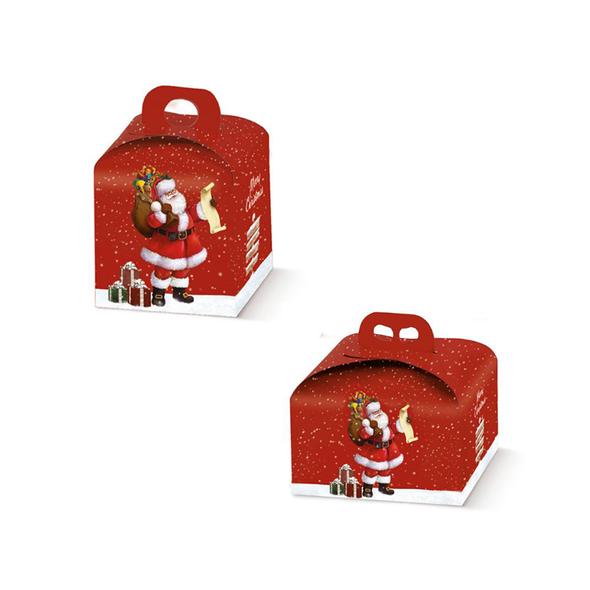 scatola panettone babbo natale gruppo 36178