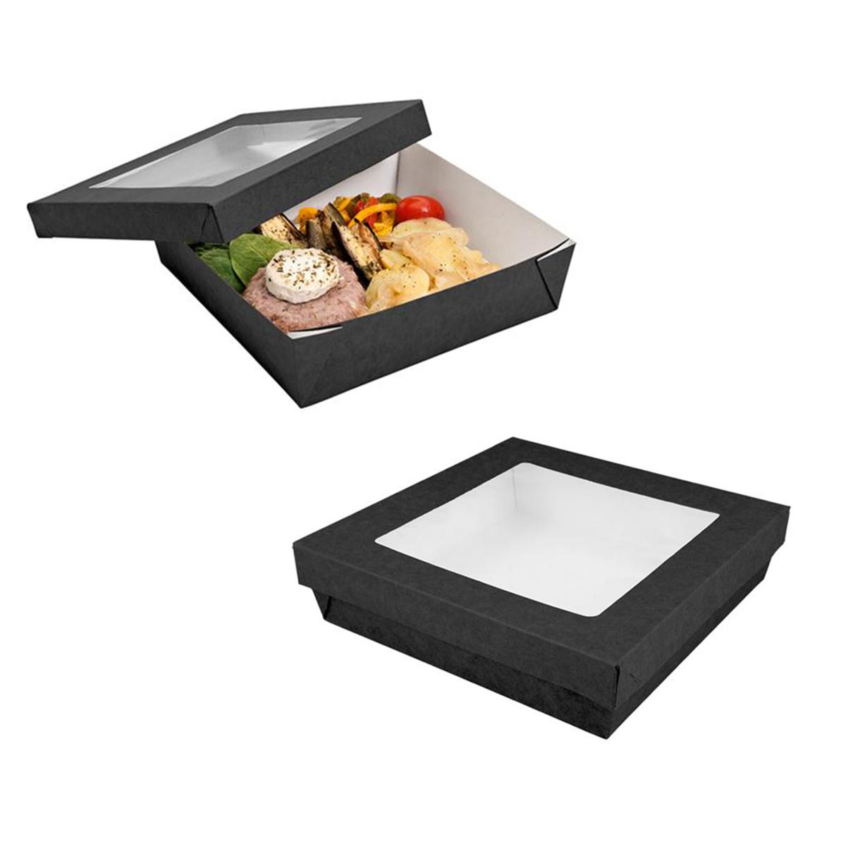 scatola nera per alimenti con finestra 250.96